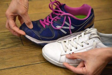 靴のチェック