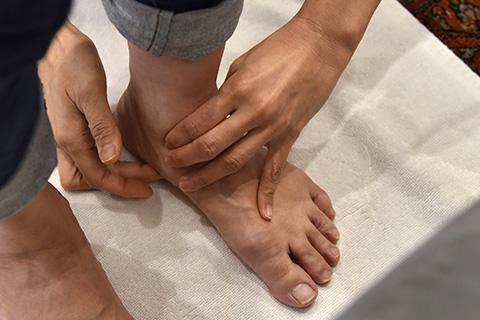 足の健康診断コース